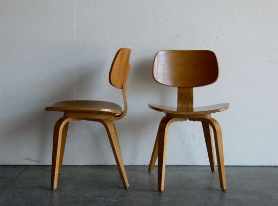 Vintage Mid Century Modern Thonet Plywood Chair Remodelista