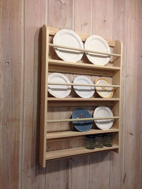 Decorative plate display rack remodelista for How to make display shelves
