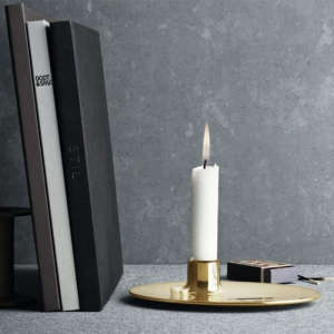 Ilse Crawford Brass Candlestick Remodelista