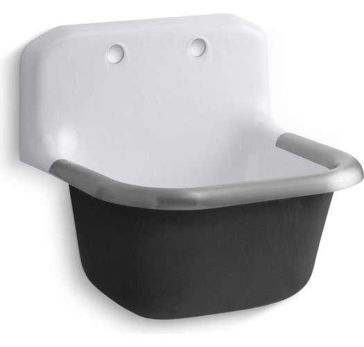 Kohler K 6716 0 Bannon Bannon Service Sink Remodelista