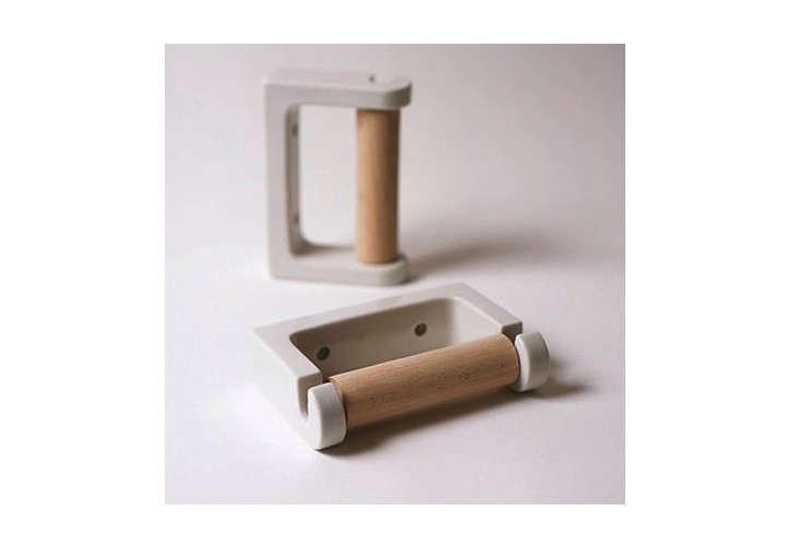 Koizumi Studio Porcelain Toilet Roll Holder