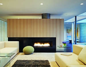 Kuth/Ranieri Hillsborough fireplace | Remodelista
