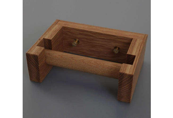 Wooden toilet paper holder remodelista Wood toilet paper holders