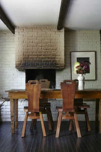 Laura Silverman Brick FIreplace Remodelista