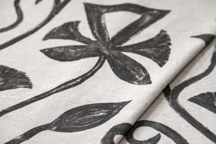 laviva-home-khovar-collection-leaf-linen-fabric-Remodelista
