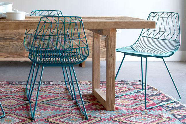 Phenomenal Bend It Like Nanda A High Low Wire Chair Remodelista Forskolin Free Trial Chair Design Images Forskolin Free Trialorg