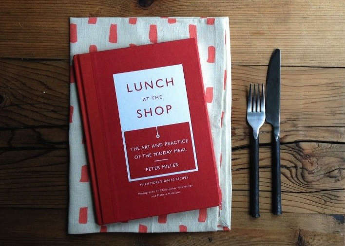Required Reading: Lunch at the Shop by Peter Miller