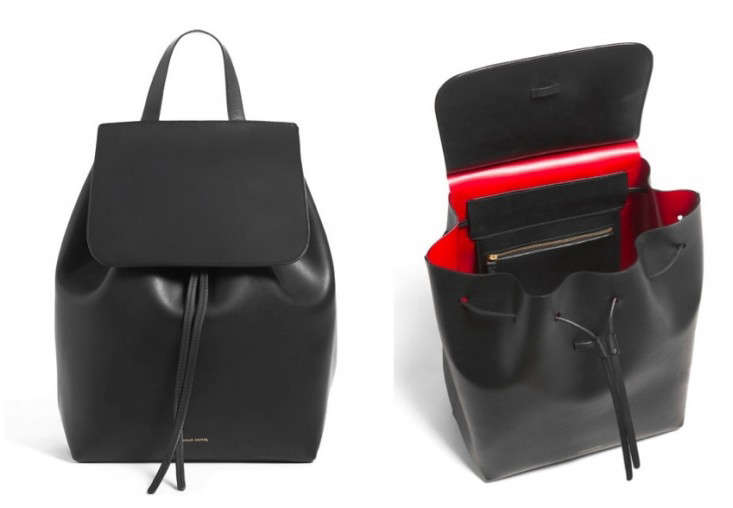 mansur-gavriel-black-backpack