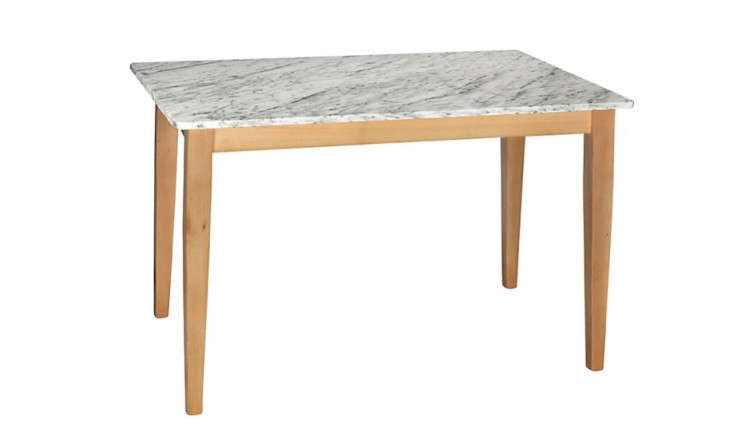 10 Easy Pieces Marble Top Dining Tables Remodelista : marble table john lewis remodelista 733x428 from www.remodelista.com size 733 x 428 jpeg 49kB