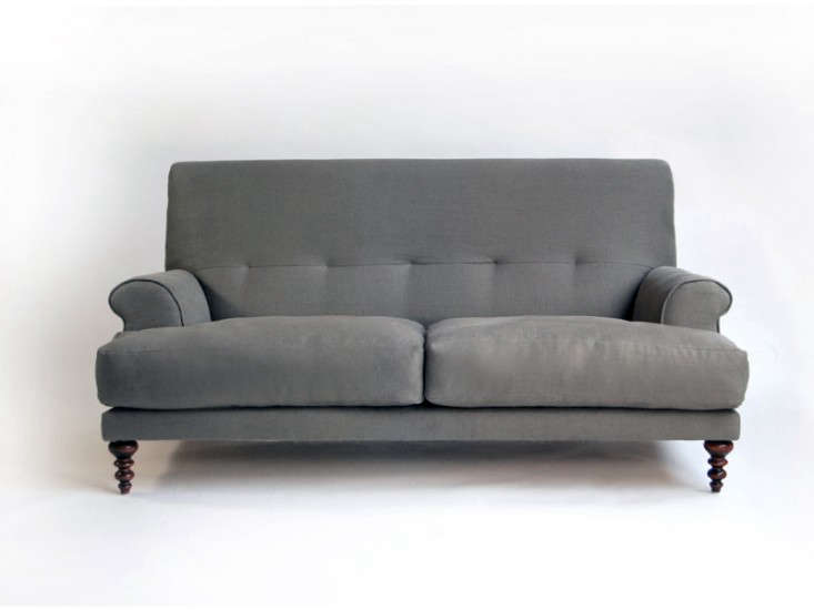 High Low Cushy English Style Sofa Remodelista