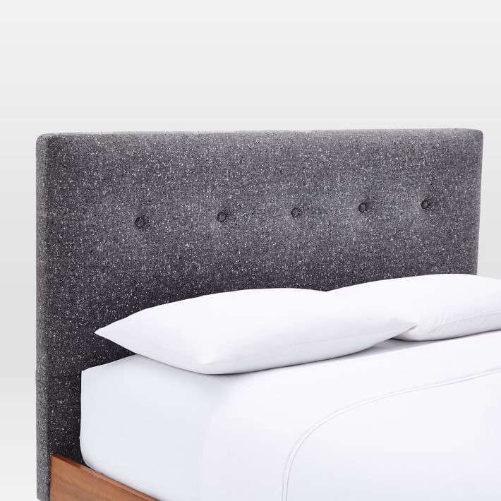 mid-century-button-tufted-bed-tweed-west-elm-remodelista