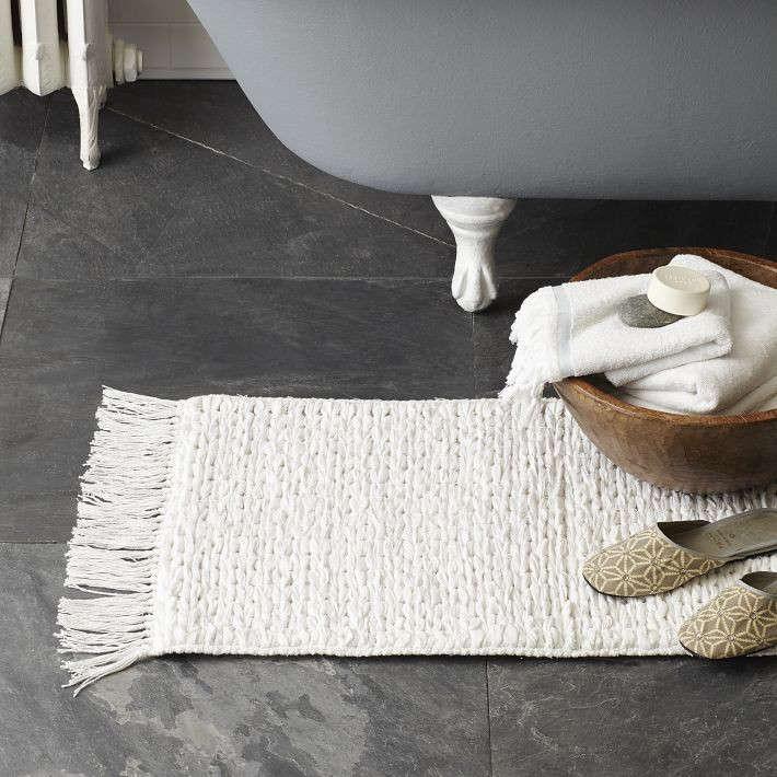 Mixed Weave Bath Mat Remodelista