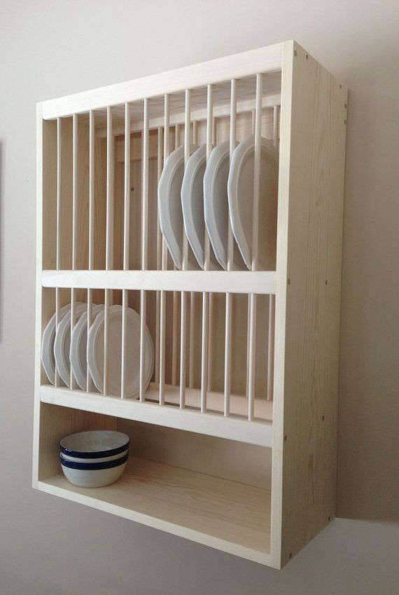 wooden kitchen plate rack cabinet 10 easy pieces wall mounted plate racks remodelista 1961