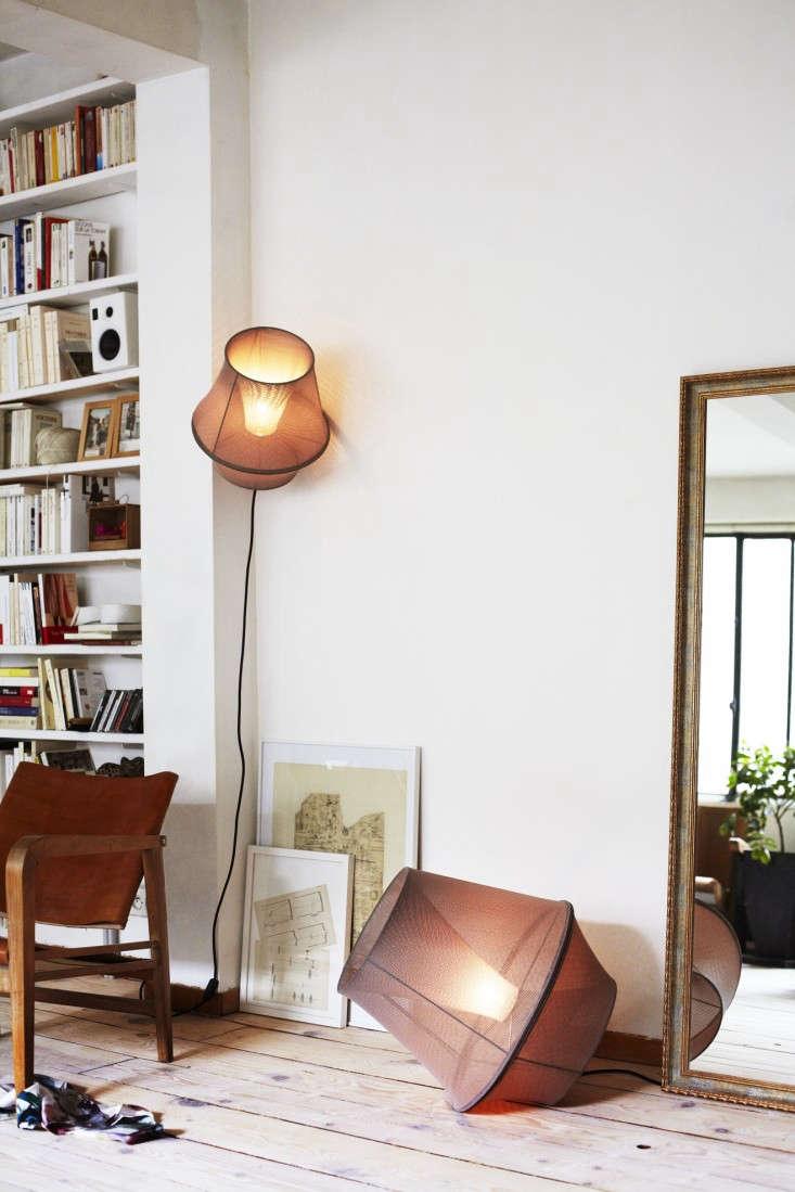 10 easy pieces fabric pendant lamps remodelista. Black Bedroom Furniture Sets. Home Design Ideas