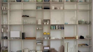 Moormann Shelving Black Concept Store/Remodelista