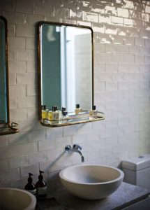 Wonder Australia Bathroom Moroccan Tiles and Nautical Mirror/Remodelista