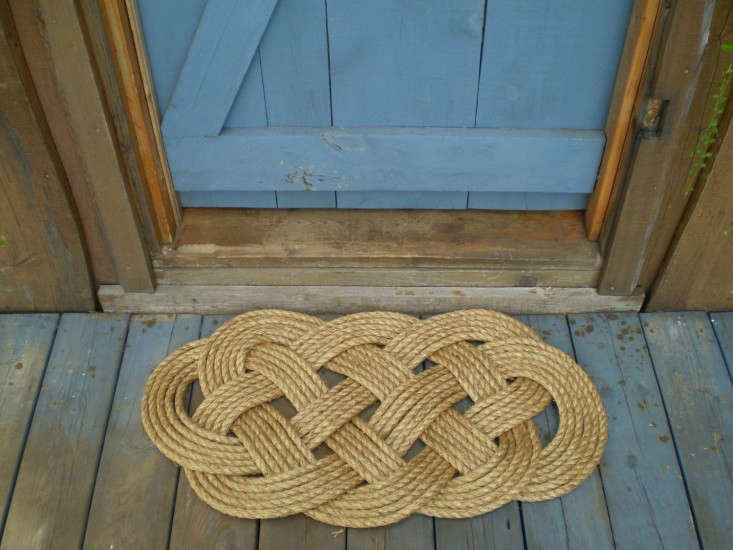 nautical rope mat by Karen