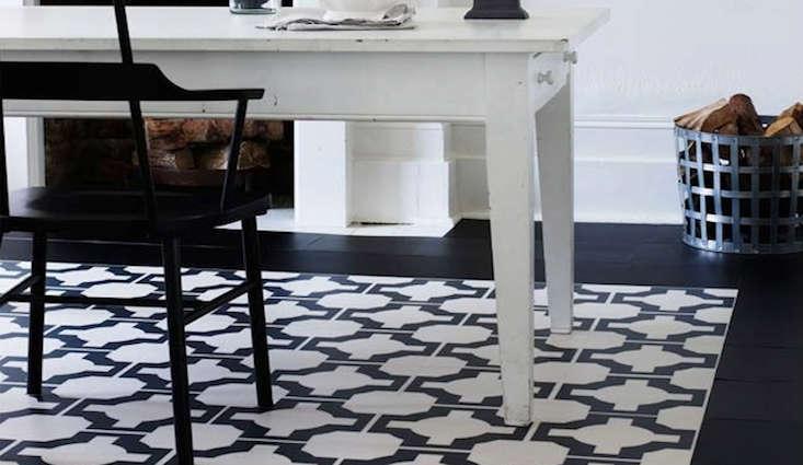 . The Return of the Vinyl Floor Tile    Remodelista
