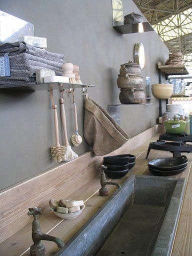 outdoor-kitchen-trough-sink