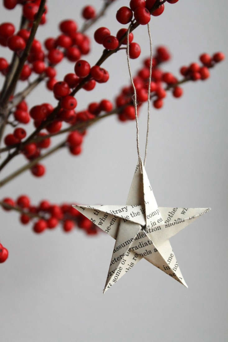 paper star ornament by Paperiaarre