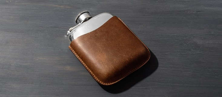 pewter-flask-leather-case-remodelista