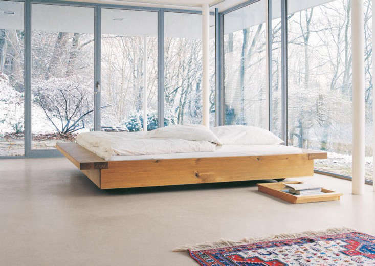 10 easy pieces wood platform bed frames