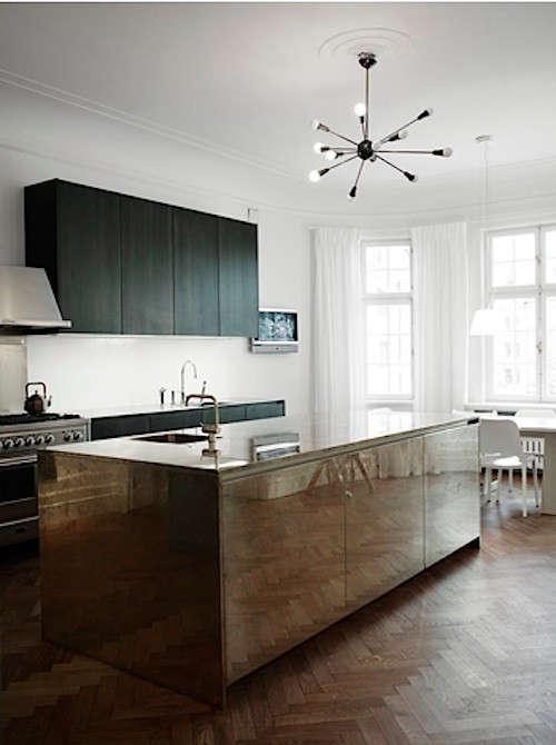 pia-ulin-mirrored-kitchen-island-remodelista
