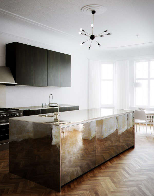 pia-wallen-metallic-kitchen-island-remodelista