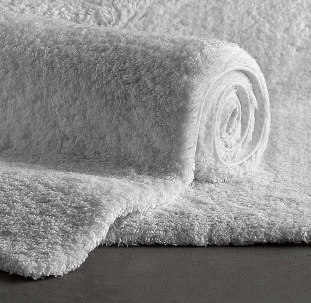Plush Pile Bath Rugs Remodelista