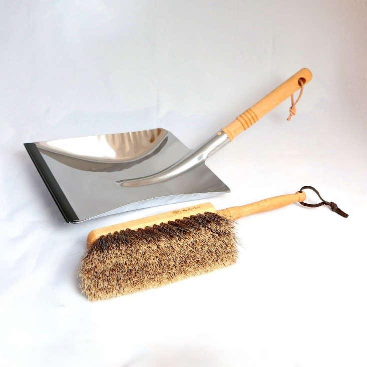 redecker-dustpan-brush-chrome-remodelista