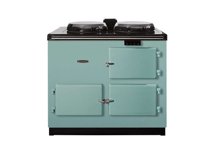 10 easy pieces: colorful freestanding kitchen ranges - remodelista