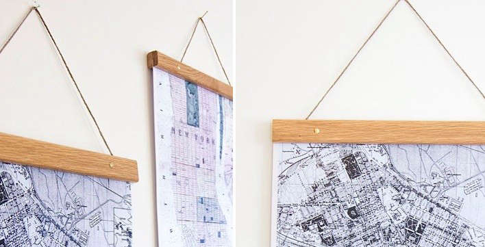 Above: Poster Hangers From Owl Streets In Sweden Start At $8.