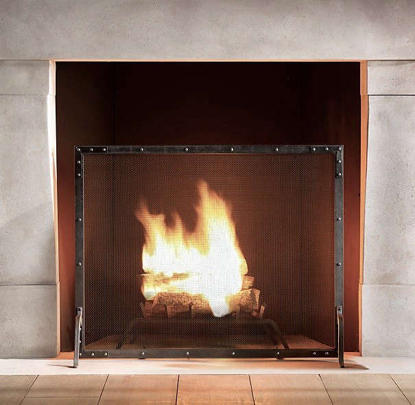 restoration-hardware-riveted-fire-screen-remodelista