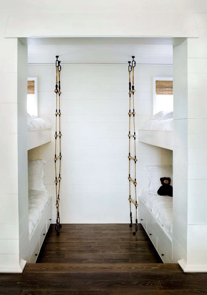 Design Sleuth Nautical Rope Bunkbed Ladder Remodelista