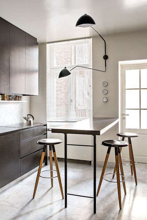 Wall Sconces For Kitchen : Serge Mouille Two-Arm Wall Sconce: Remodelista
