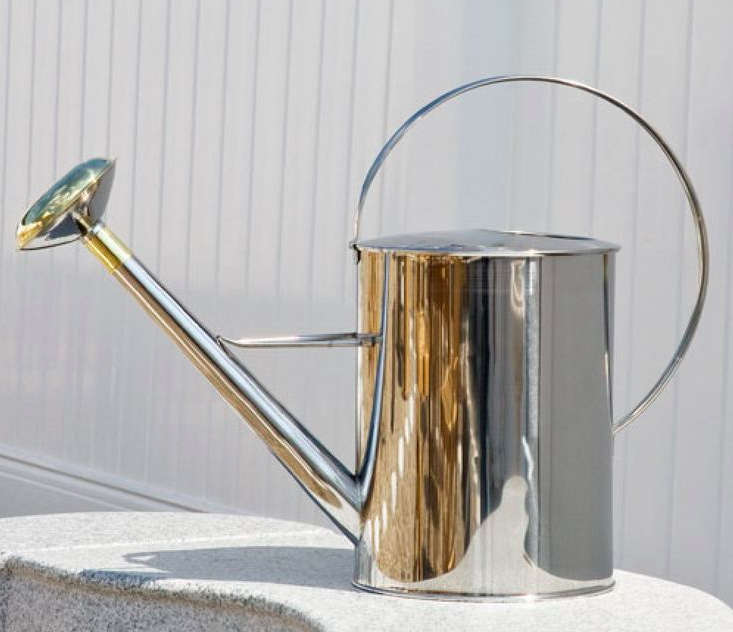 signature-hardware-stainless-steel-watering-can-remodelista