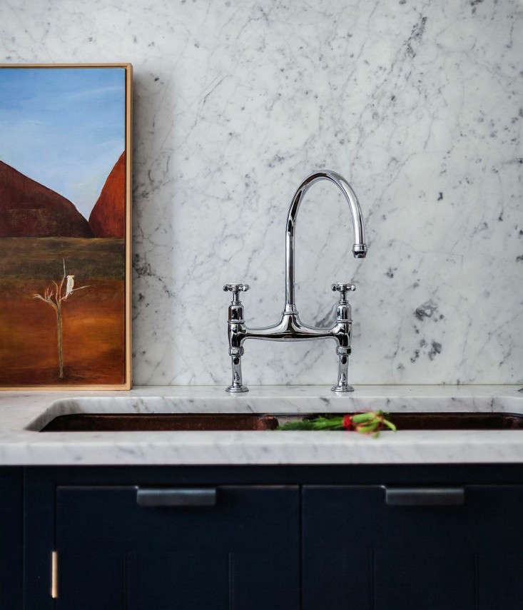 Above: Star London Chef Skye Gyngell Has An Ionian Two Hole Sink Mixer  Faucet With Crosshead Handles From Perrin U0026 Rowe In Her British Standard  Kitchen.