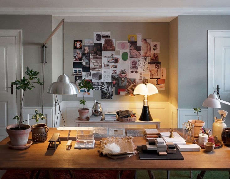 Warm And Cozy Dining Room Moodboard: Mastering Warm Minimalism: Ilse Crawford In Copenhagen