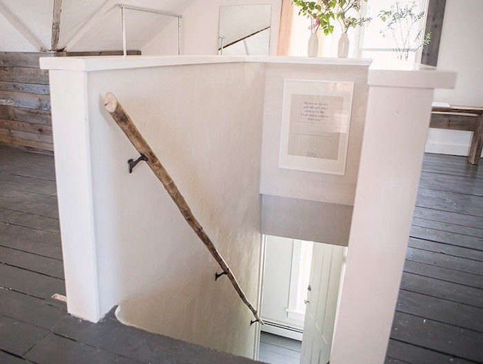 Diy Tree Branch As Hand Rail Remodelista
