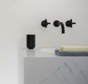 Tara Dornbracht Black Faucet/Remodelista