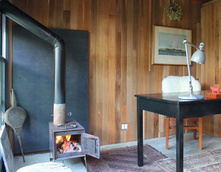 "Says Long, ""Obviously, it isn't freezing here in San Francisco, so the  woodstove isn't a necessity ... - Design Sleuth: The Camp Stove For Home And Wilderness"