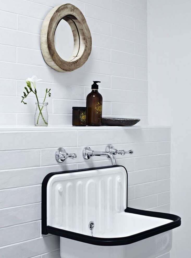 design sleuth the alape bucket sink from germany remodelista. Black Bedroom Furniture Sets. Home Design Ideas
