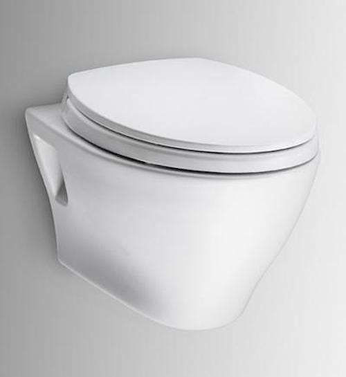 Above: From Japanese company Toto, known for being on the vanguard of toilet  technology, the Toto Aquia Wall-Hung Toilet and In-Wall Tank System  features ... - 10 Easy Pieces: Wall-Mounted Toilets - Remodelista