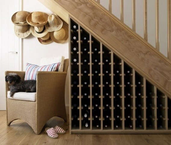 6 Under The Stairs Wine Cellars Remodelista
