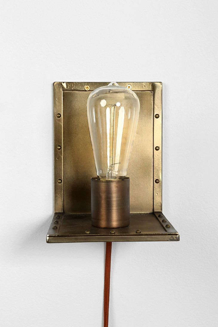 urban-outfitters-brass-sconce-remodelista