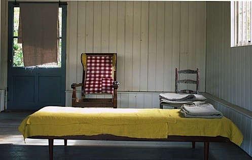 volga-linens-yellow-blanket-1