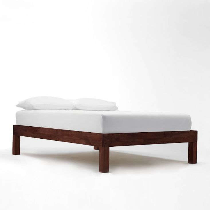 Boerum Bed Frame Café, Queen Bed Frame Without Headboard