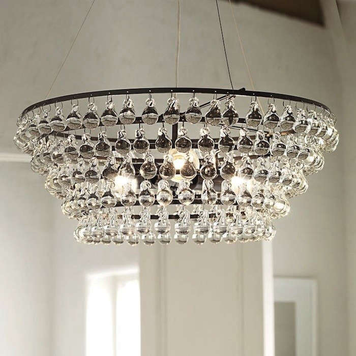 Solid Glass Orb Ceiling Light Remodelista