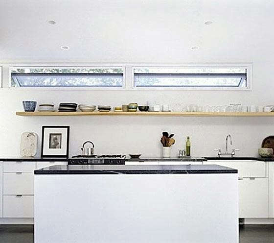 10 Favorites Rustic Open Shelving In The Kitchen Remodelista