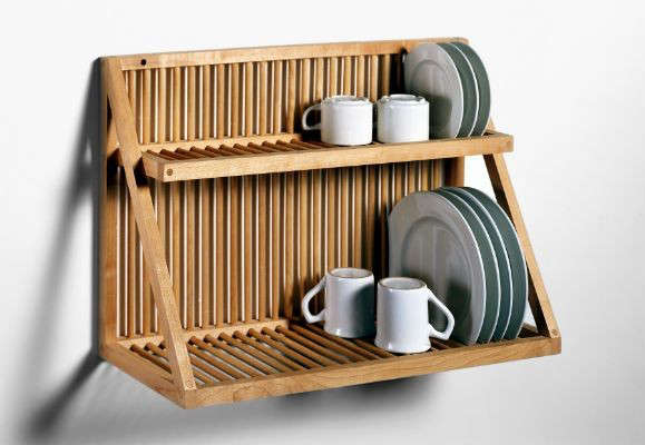 Traditional Wooden Plate Rack Remodelista